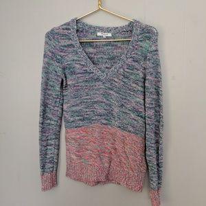 Madewell   Variated Colorblock Sweater